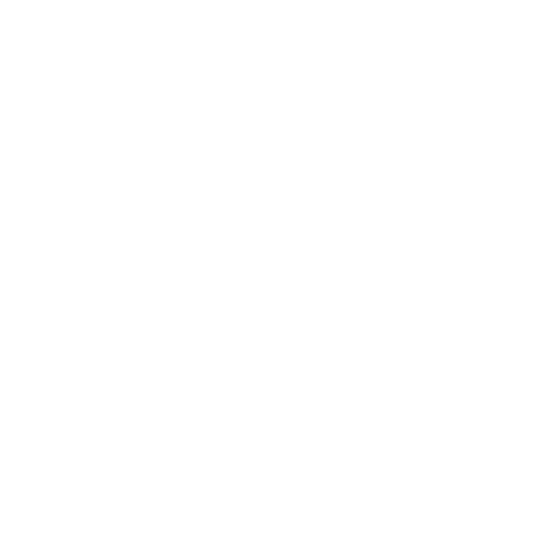 icon of a map with lines drawn through and a placemarker